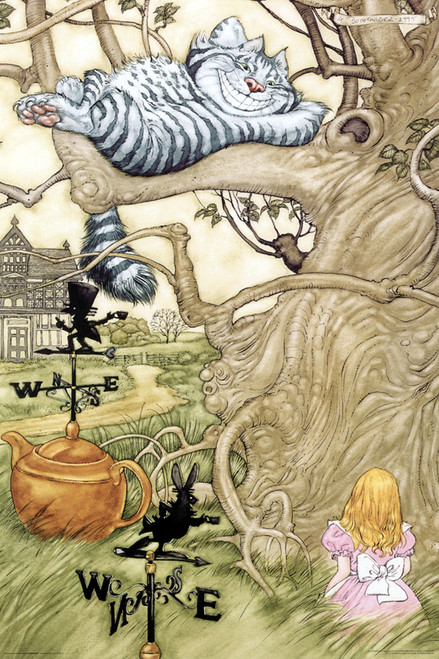Image for Alice in Wonderland Cheshire Cat Poster