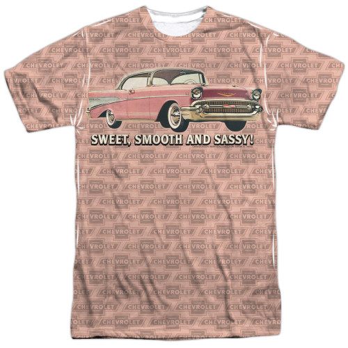 Image for Chevy T-Shirt - Pink and Black Days