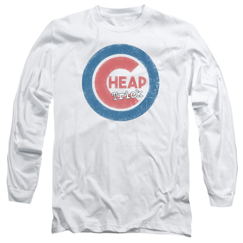 Image for Cheap Trick Long Sleeve Shirt - Cheap Cub Logo