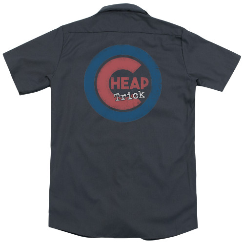 Image Closeup for Cheap Trick Dickies Work Shirt - Cheap Cubs