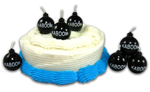 Image Closeup for Kaboom Novelty Candles