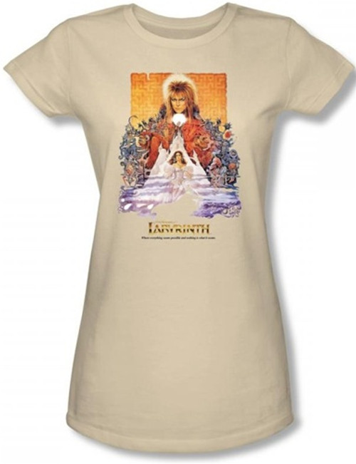 Image for Labyrinth Girls Shirt - Movie Poster