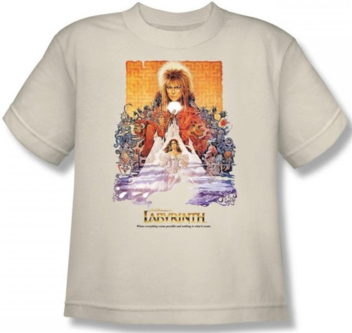 Image for Labyrinth Youth T-Shirt - Movie Poster
