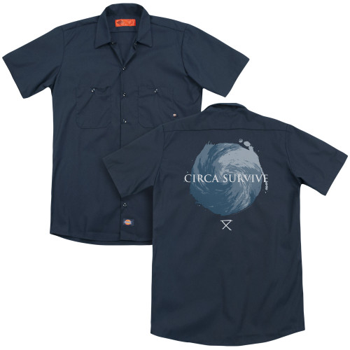 Image for Circa Survive Dickies Work Shirt - Storm