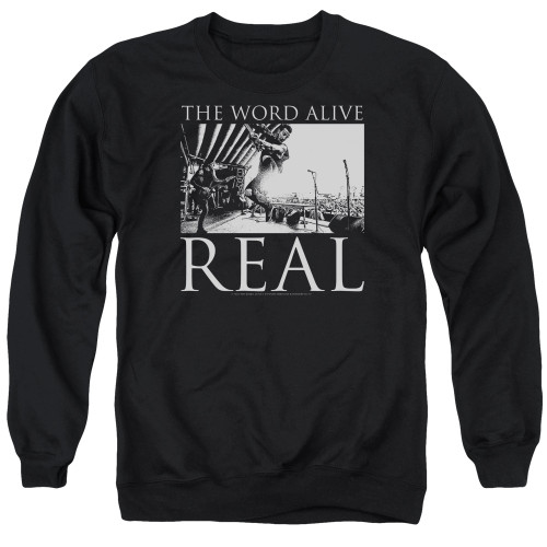 Image for The Word Alive Crewneck - Live Shot