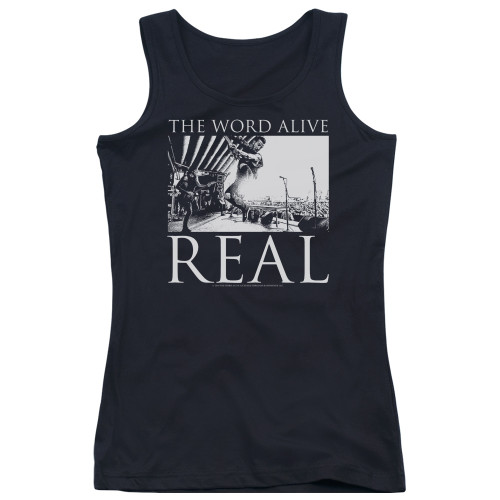 Image for The Word Alive Girls Tank Top - Live Shot