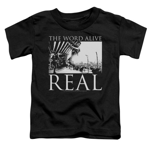 Image for The Word Alive Toddler T-Shirt - Live Shot