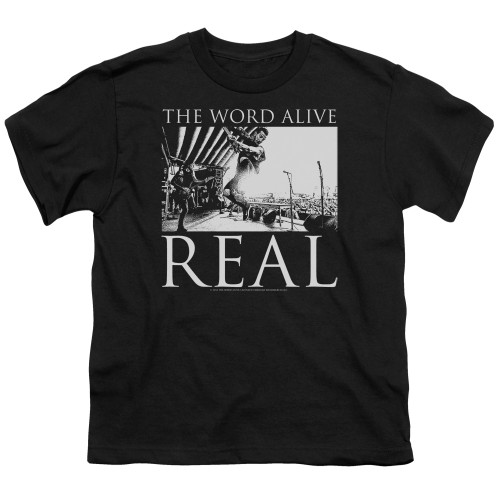 Image for The Word Alive Youth T-Shirt - Live Shot