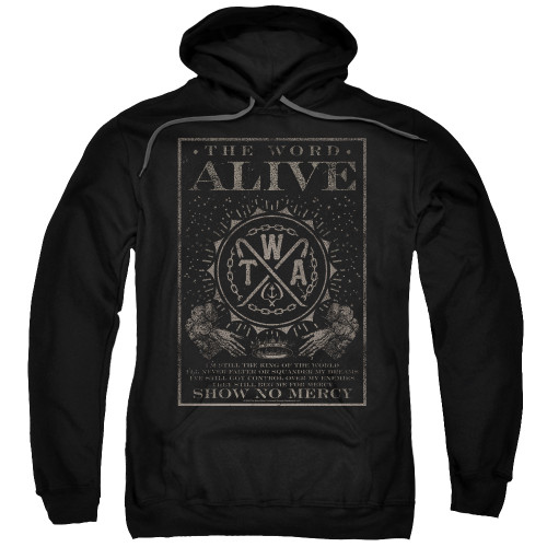 Image for The Word Alive Hoodie - Show No Mercy