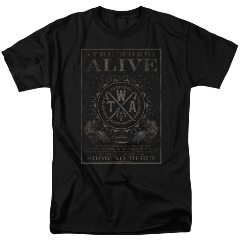 Image for The Word Alive T-Shirt - Show No Mercy
