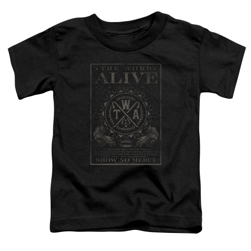 Image for The Word Alive Toddler T-Shirt - Show No Mercy
