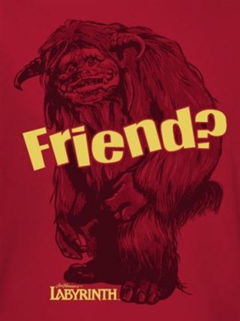 Image for Labyrinth T-Shirt - Ludo Friend