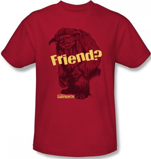 Image Closeup for Labyrinth T-Shirt - Ludo Friend