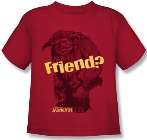 Image for Labyrinth Kids T-Shirt - Ludo Friend