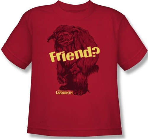 Image for Labyrinth Youth T-Shirt - Ludo Friend