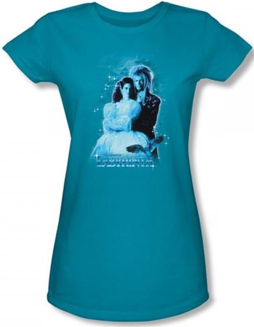 Image for Labyrinth Girls Shirt - Peach Dreams