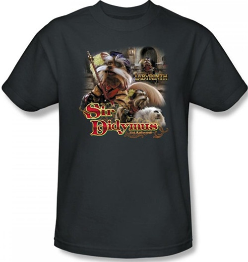 Image Closeup for Labyrinth T-Shirt - Sir Didymus