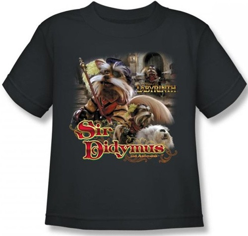 Image for Labyrinth Kids T-Shirt - Sir Didymus
