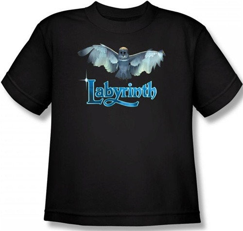 Image for Labyrinth Youth T-Shirt - Title Sequence