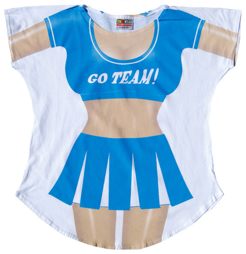 Image for Cheerleader Cover Up T-Shirt