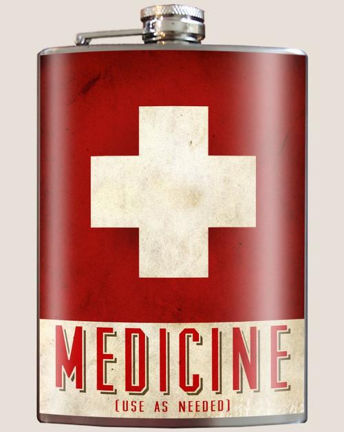 Image for Trixie & Milo Medicine Hip Flask