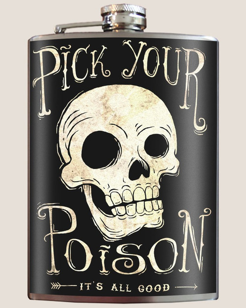 Image for Trixie & Milo Pick Your Poison Hip Flask