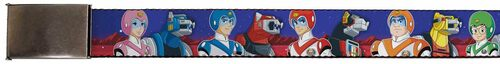 Image for Voltron Belt - Super Force Pilots