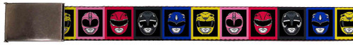Image for Power Rangers Belt - Faces Block