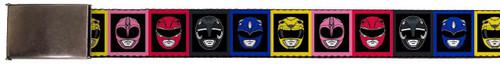 Image for Power Rangers Belt - Faces Block