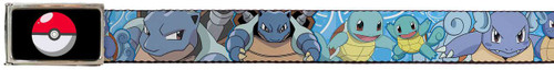 Image for Pokemon Belt With Logo Buckle - Squirtle Evolution