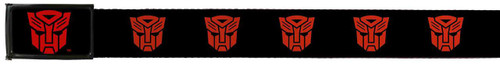 Image for Transformers Belt With Logo Buckle - Autobot Logo
