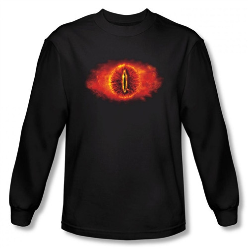 Image for Lord of the Rings Eye of Sauron Long Sleeve T-Shirt