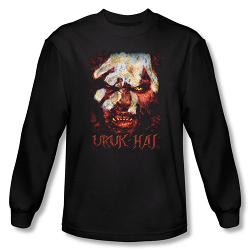 Image for Lord of the Rings Uruk Hai Long Sleeve T-Shirt