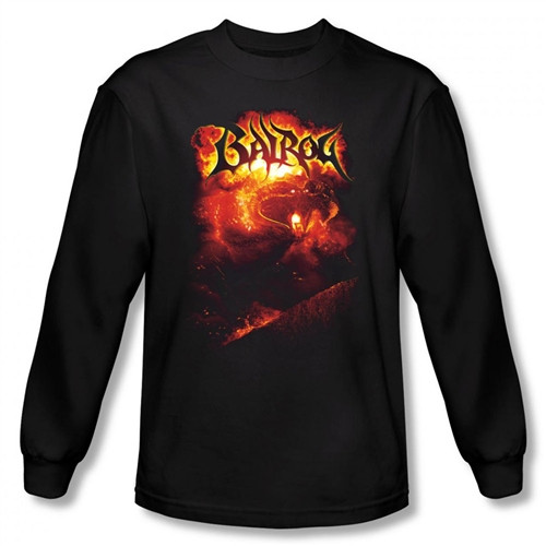 Image for Lord of the Rings Balrog Long Sleeve T-Shirt