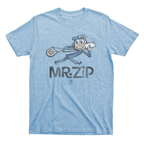 Image for US Post Office Mr. Zip T-Shirt