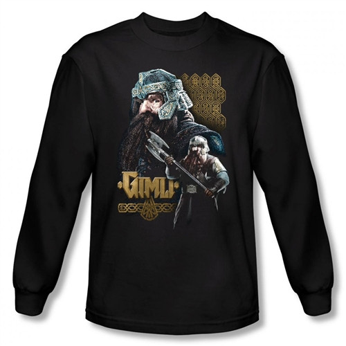 Image for Lord of the Rings Gimli Long Sleeve T-Shirt
