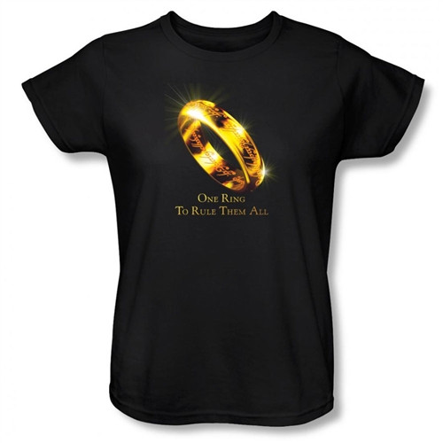 Image for Lord Woman's T-Shirt - One Ringsto Rule Them All