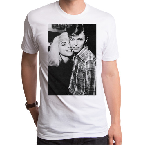 Image for David Bowie and Debbie Harry T-Shirt