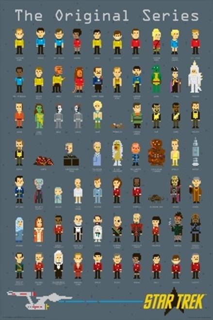Image for Star Trek Poster - 8 Bit