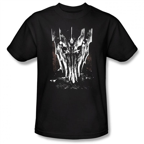 Image Closeup for Lord of the Rings Big Sauron Head T-Shirt