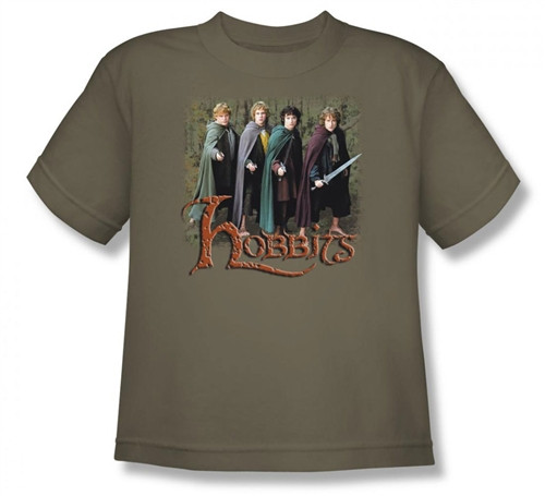 Image for Lord of the Rings Youth T-Shirt -Hobbits
