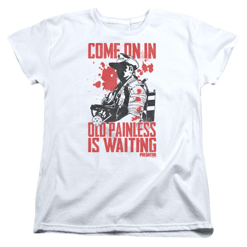 Image for Predator Womans T-Shirt - Painless
