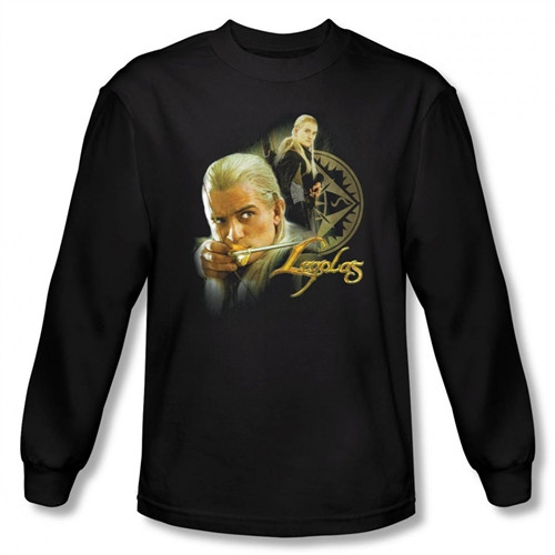 Image for Lord of the Rings Legolas Long Sleeve T-Shirt