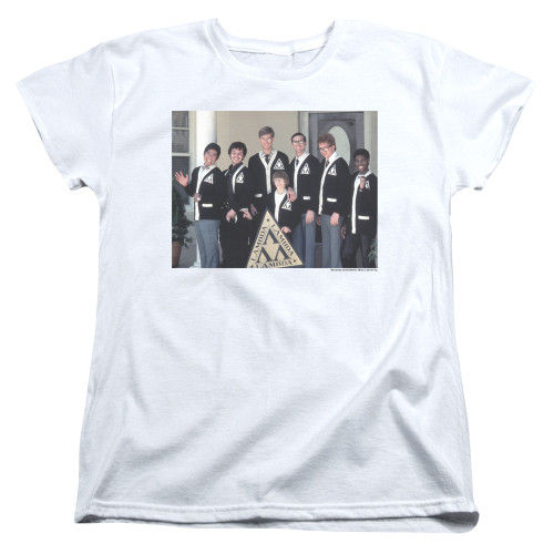 Image for Revenge of the Nerds Womans T-Shirt - Tri Lam Group Shot