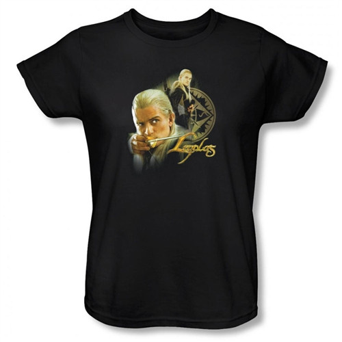 Image for Lord of the Rings Woman's T-Shirt - Legolas