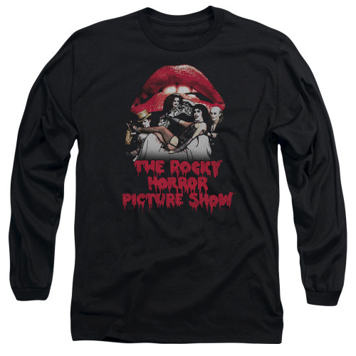 Image for Rocky Horror Picture Show Long Sleeve Shirt - Casting Throne