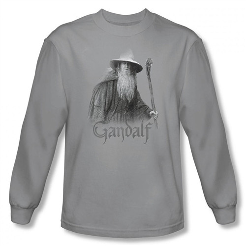 Image for Lord of the Rings Gandalf the Grey Long Sleeve T-Shirt