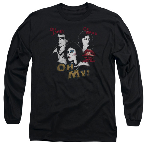 Image for Rocky Horror Picture Show Long Sleeve Shirt - Oh My