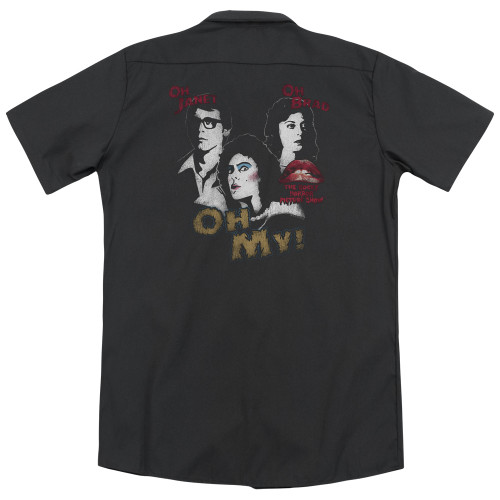 Image for Rocky Horror Picture Show Dickies Work Shirt - Oh My