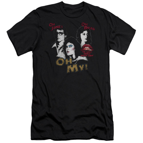 Image for Rocky Horror Picture Show Premium Canvas Premium Shirt - Oh My